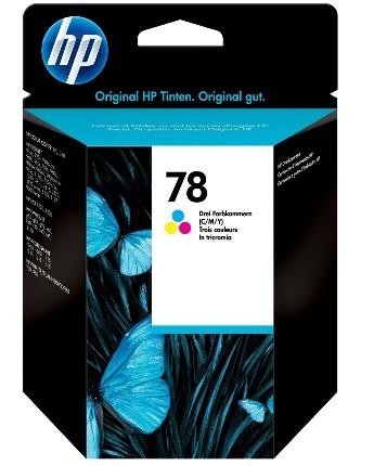HP No. 78 Tri Colour Ink Cartridge