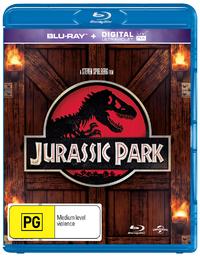 Jurassic Park on Blu-ray