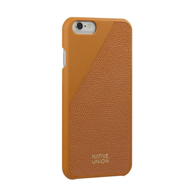 Native Union  Clic Leather Case for iPhone 6 6S (Gold)  6b377368ccea1