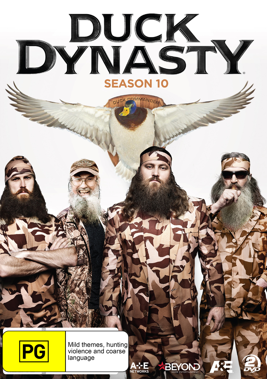 Duck Dynasty - Season 10 on DVD image