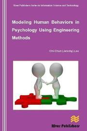Modeling Human Behaviors in Psychology Using Engineering Methods by Chi-Chun Lee