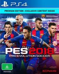 Pro Evolution Soccer 2018 Premium Edition for PS4