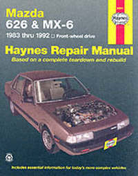 Mazda 626 And MX-6 (FWD) (83 - 92) by Larry Warren
