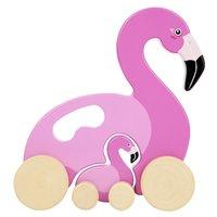 Sunnylife Push n Pull Toy - Flamingo