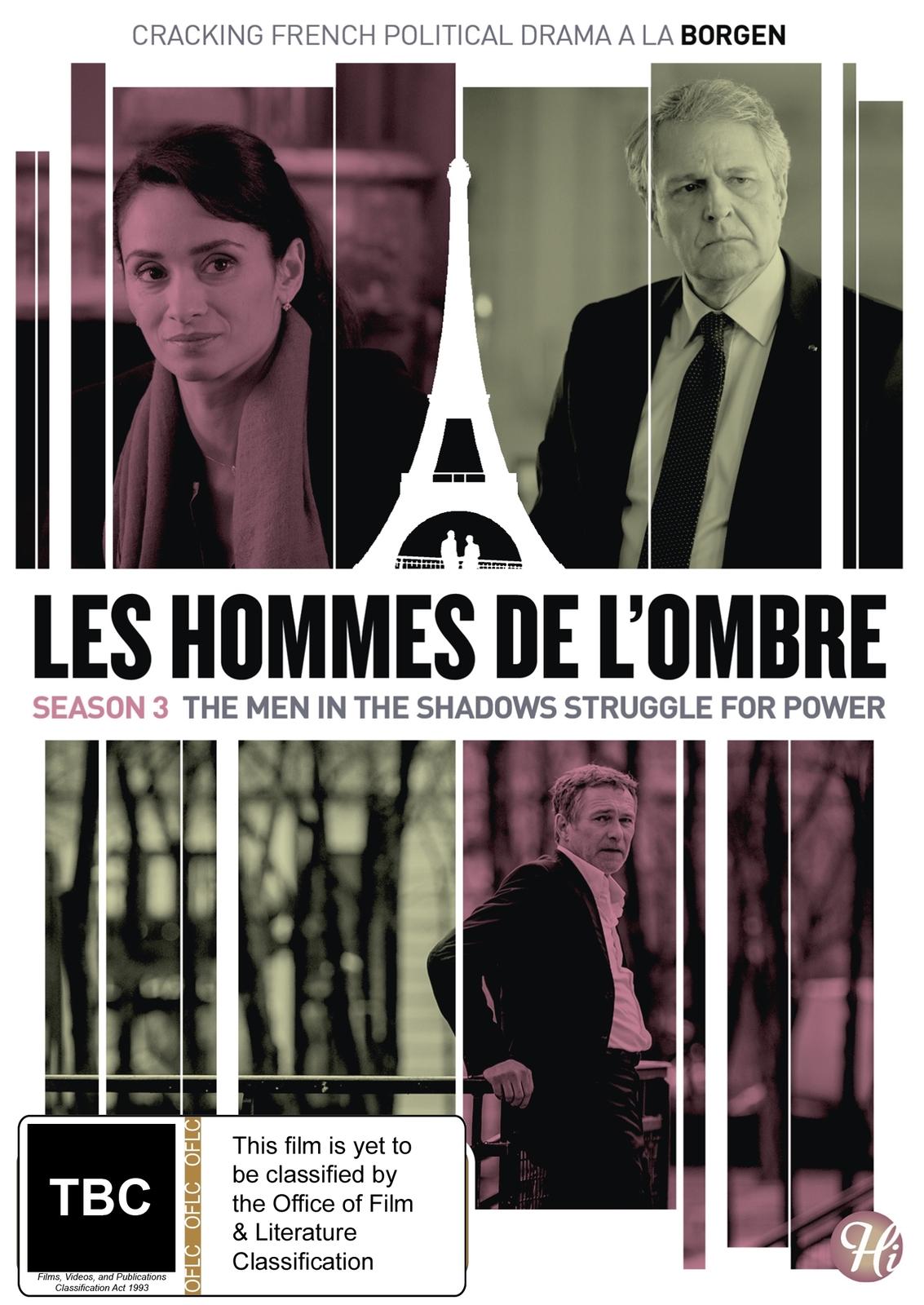 Les Hommes De L'ombre (The Shadow Men) Season 3 on DVD image
