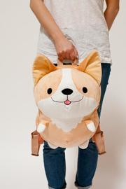 Smoko: Milo Corgi - Plush Backpack
