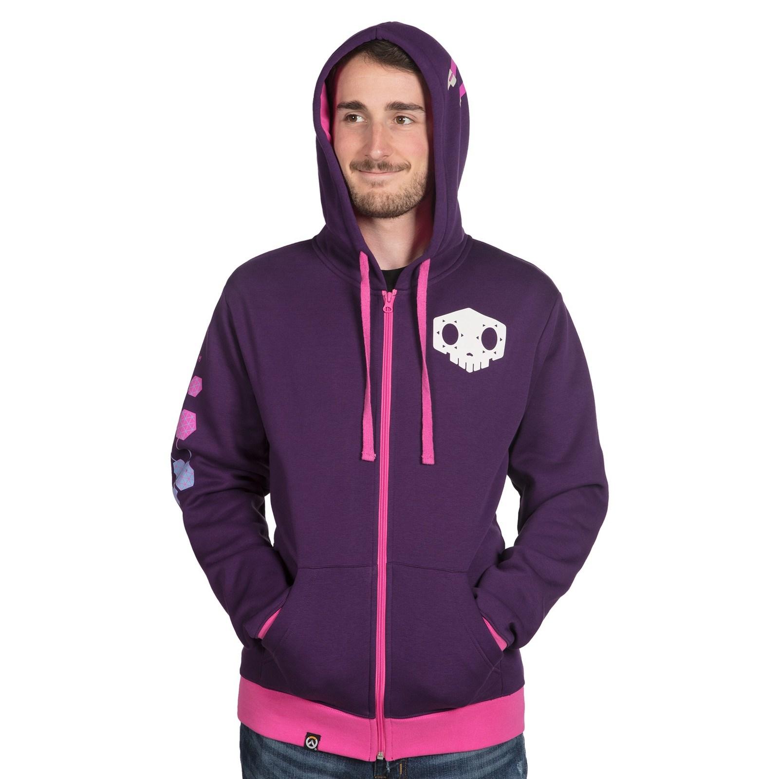 Overwatch Ultimate Sombra Zip-Up Hoodie (XL) image