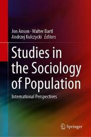 Studies in the Sociology of Population