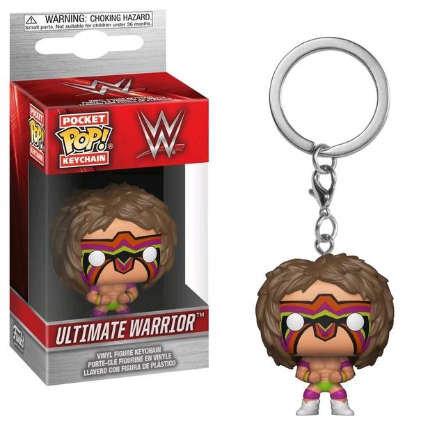 WWE : Ultimate Warrior Pop! Keychain
