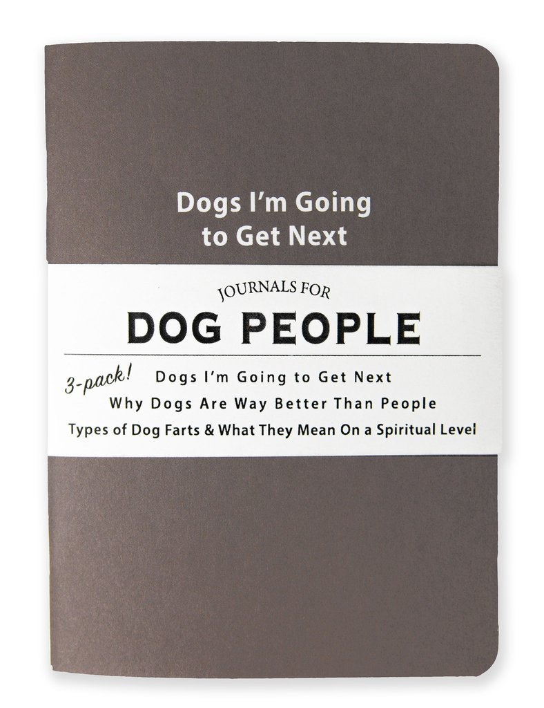 Whiskey River Co: 3 Piece Journal Set - Journals For Dog People image