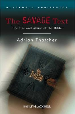 The Savage Text by Adrian Thatcher image