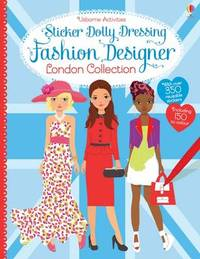 Sticker Dolly Dressing Designer London Collection by Fiona Watt