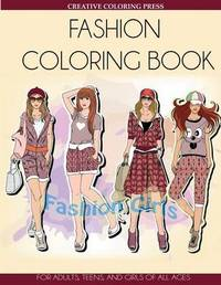 Fashion Coloring Book by Creative Coloring