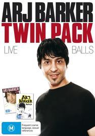 Arj Barker Twin Pack (2 Disc Set) on DVD