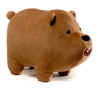 We Bare Bears: Grizz Plush (30cm)