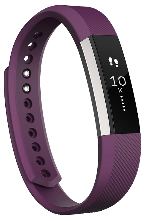 Fitbit Alta Fitness Tracker Wristband - Plum (Large) image