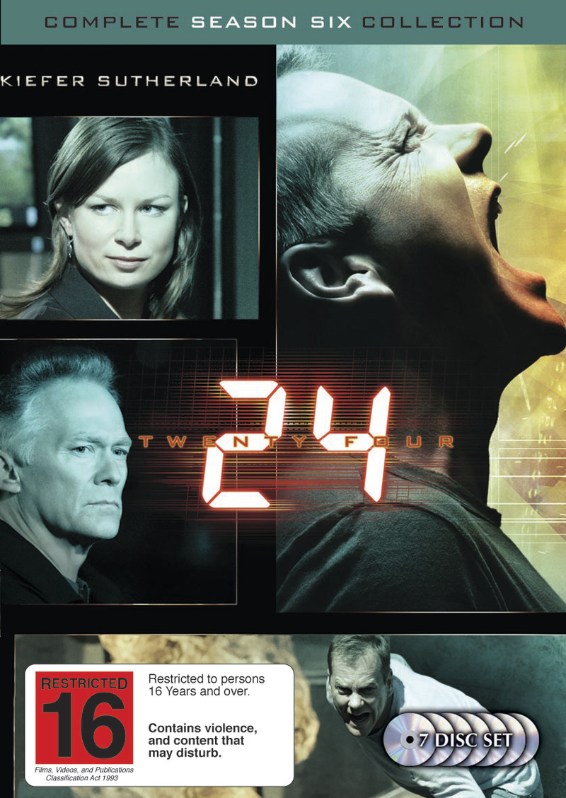 24 - Complete Season Six Collection on DVD image
