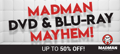 Up to 50% off Madman Entertainment Movies & TV!