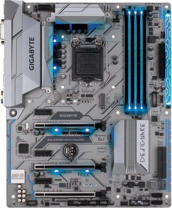 Gigabyte GA-Z270X-DESIGNARE ATX Motherboard