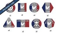 Team Yankee: French Token set image