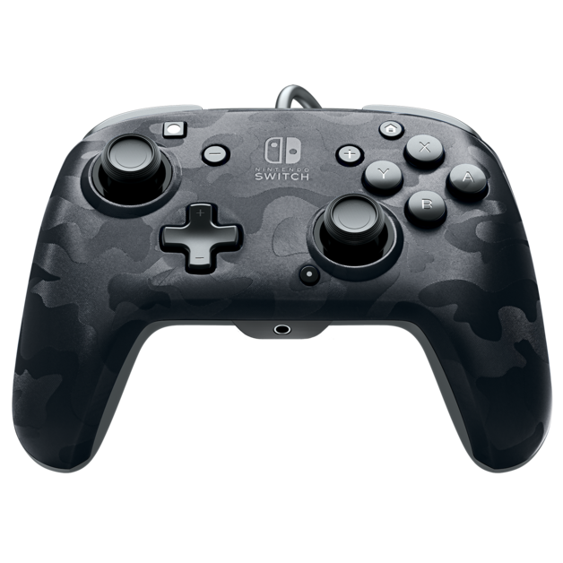 PDP Faceoff Controller Deluxe for Switch - Black Camo for Switch