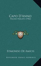 Capo D'Anno: Pagine Parlate (1902) by Edmondo De Amicis