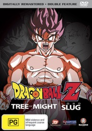 Dragon Ball Z Remastered Movie Collection (Uncut) V02 - Tree of Might / Lord Slug on DVD