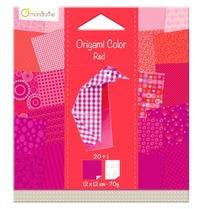 Origami Paper 120x120 - Red Penguin