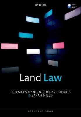 Land Law by Ben McFarlane image
