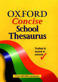 Oxford Concise School Thesaurus image