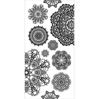 Kaisercraft: Clear Stickers - Doilies