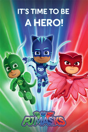 Pj Masks Time To Be A Hero Maxi Poster (819)