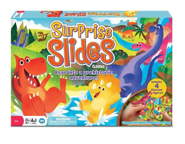 Surprise Slides - Dinosaur Board Game