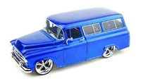 Jada: 1/24 57' Chev Suburban (Blue) – Diecast Model