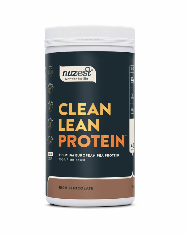 Nuzest Clean Lean Protein Plant Based Powder - Rich Chocolate (1kg)