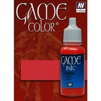 Vallejo Game Colour Red Ink 17ml
