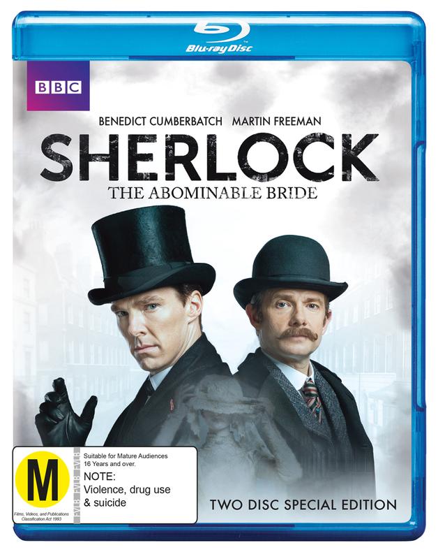 Sherlock: The Abominable Bride on Blu-ray