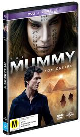 The Mummy (2017) on DVD image