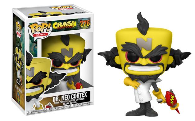 Crash Bandicoot - Neo Cortex Pop! Vinyl Figure