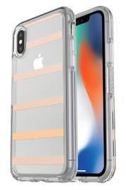 OtterBox: Symmetry Clear Case - For iPhone X (Inside The Lines)