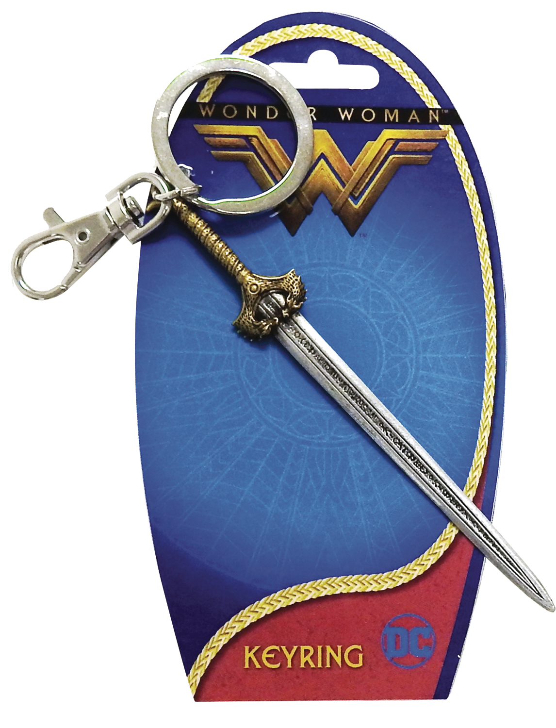 Wonder Woman - Sword Pewter Key Chain image