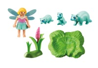 Playmobil: Fairies - Fairy Girl with Racoons (9139) image