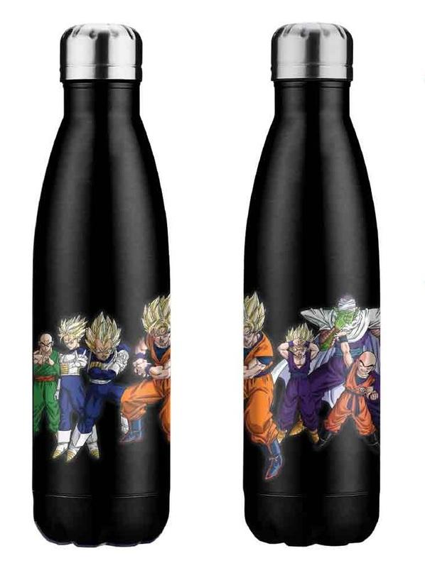 Dragon Ball Z: Stainless Steel Bottle - Heroes