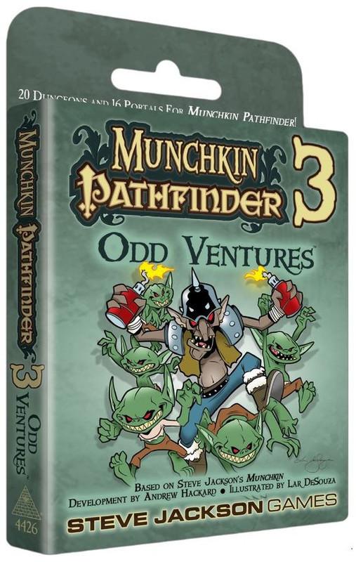 Munchkin: Pathfinder 3 - Odd Ventures