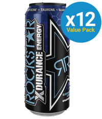 Rockstar X-Durance Berry Energy Drink 500ml (12 Pack) image