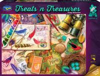 Holdson: 1000 Piece Puzzle - Treats N Treasures S3 (Vintage Birdwatcher)