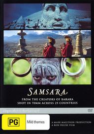 Samsara on DVD image