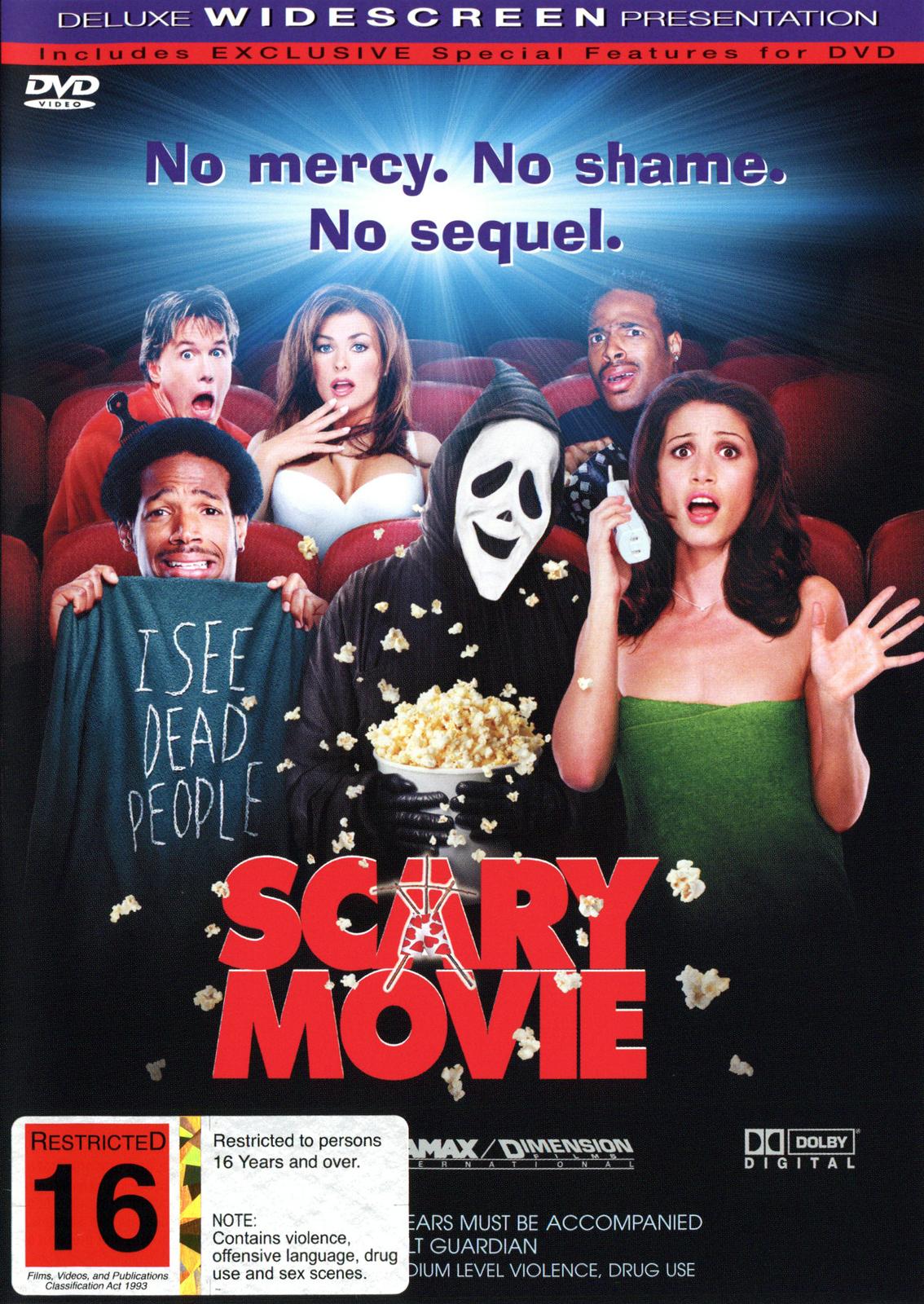 Scary Movie on DVD image