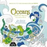 Oceans Adult Coloring Book by Joel Houston