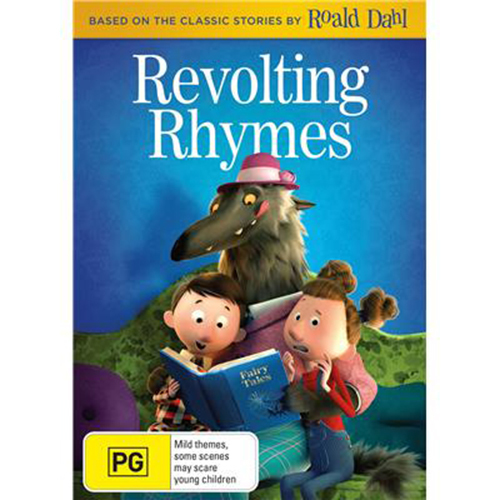 Revolting Rhymes on DVD image